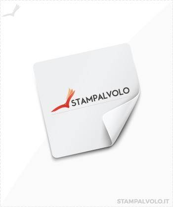 Adesivi in PVC 4x4 cm