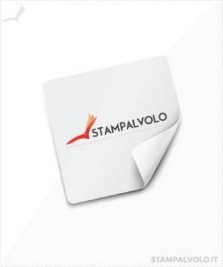 Adesivi in PVC 3x3 cm