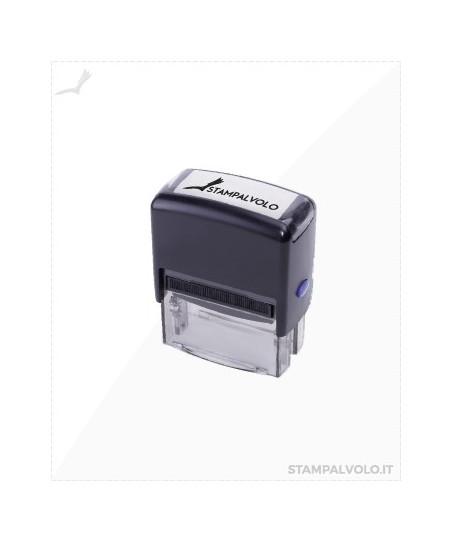 Timbro autoinchiostrante 35x12 mm