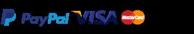 Pagamenti con PayPal Carta di credito o Bonifico